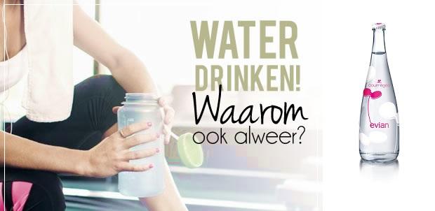 waar is water drinken goed voor