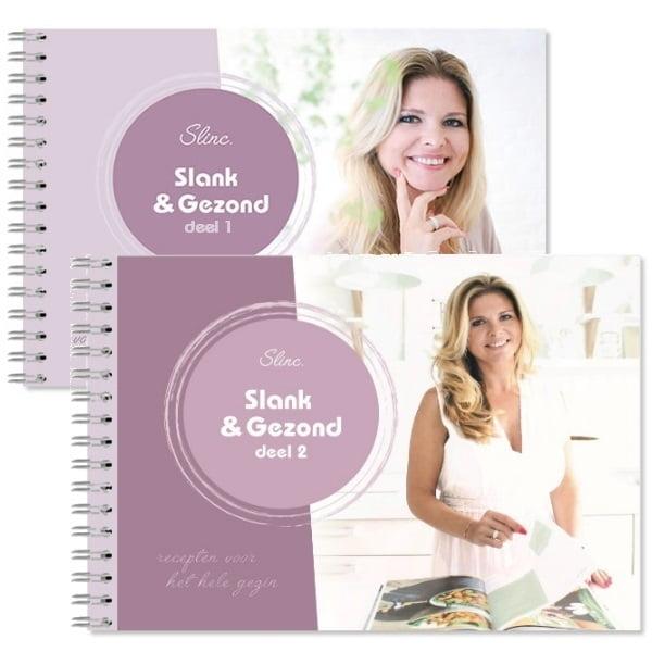Slinc. kookboek Slank en Gezond deel 1 en 2
