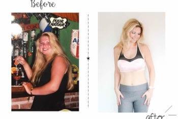 Rachel voor- en na: ik viel 19kg af
