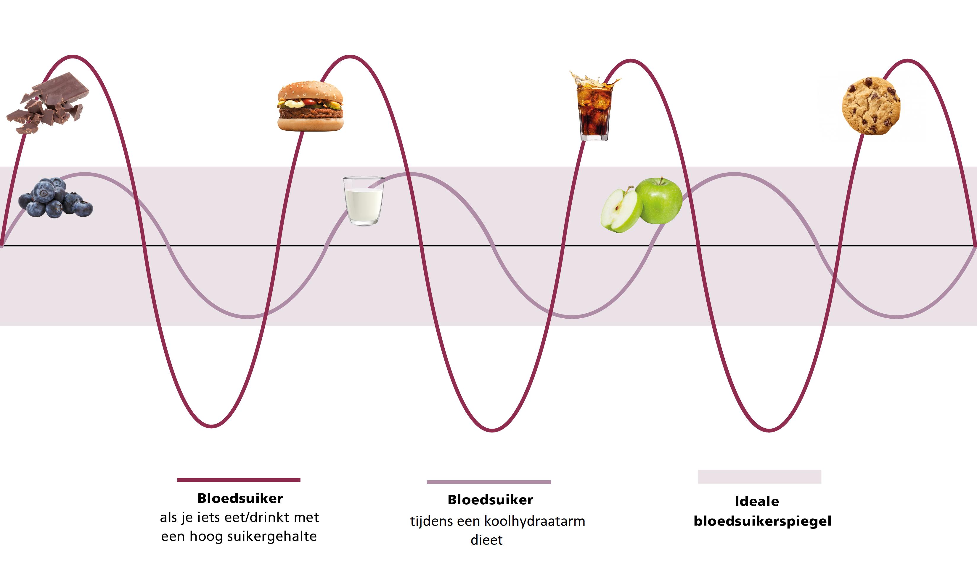 Koolhydraatarm dieet stabiele bloedsuikerspiegel