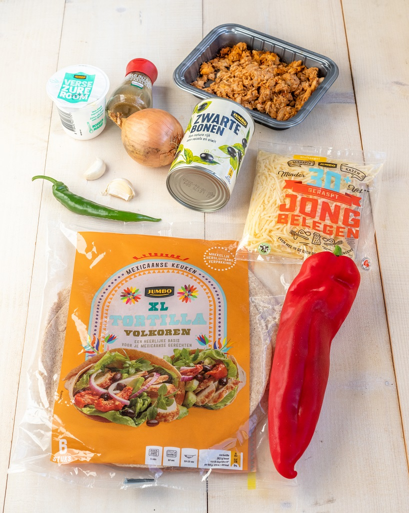 Mexicaanse enchiladas ingrediënten - slank recept