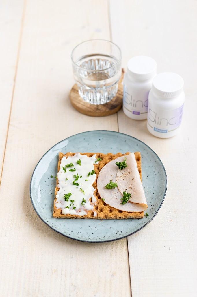 Slinc. ontbijt met supplementen