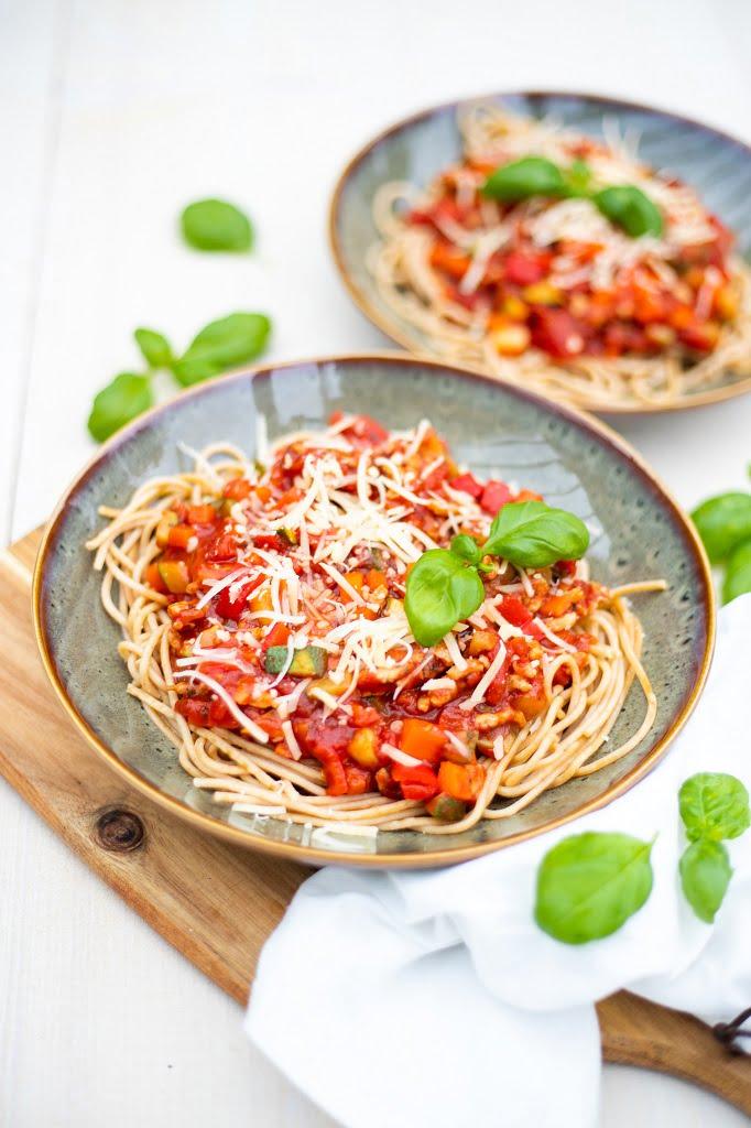 volkoren spaghetti bolognese