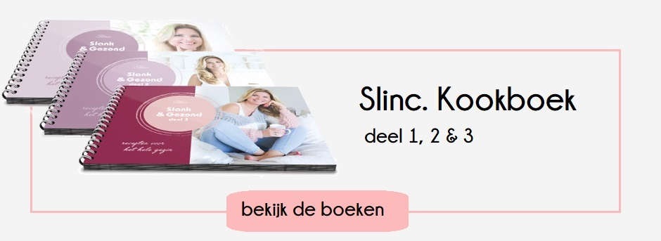 Slinc. kookboeken Slank & Gezond