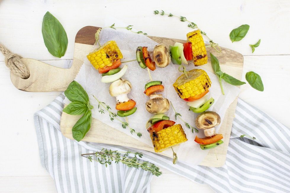 Maïs spiesjes barbecue