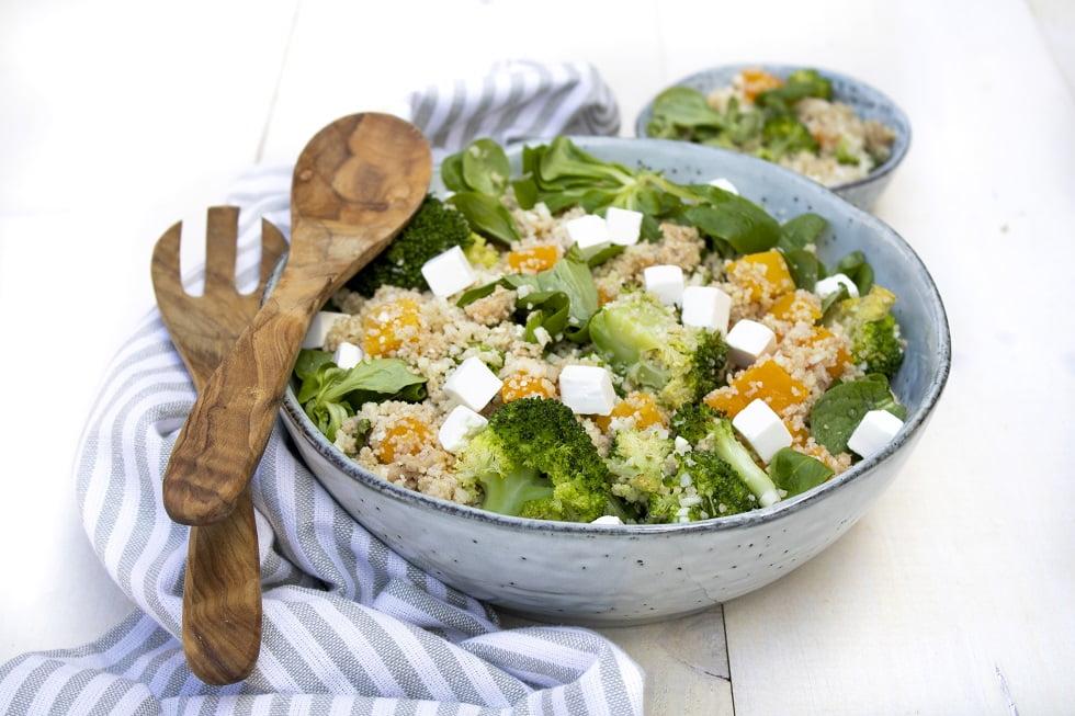 Bloemkoolrijst recept met couscous en broccoli