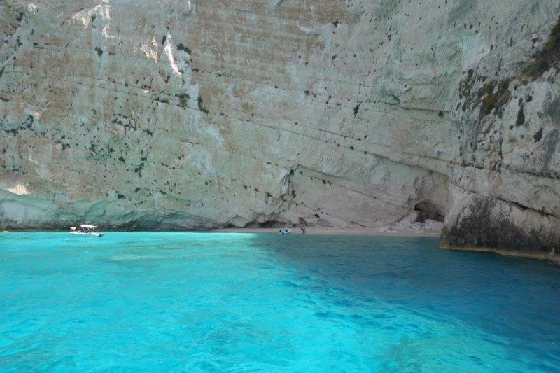Shipwreck boottocht blue cave